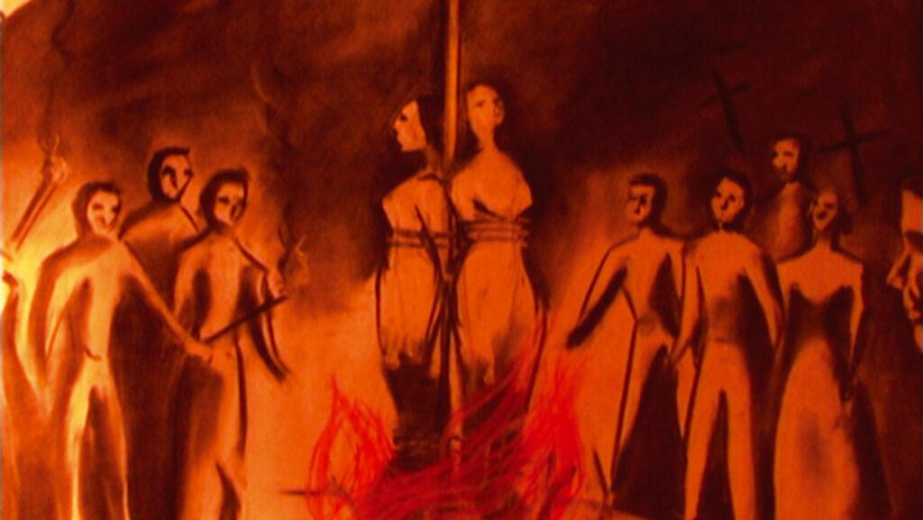 Un cuadro a las brujas