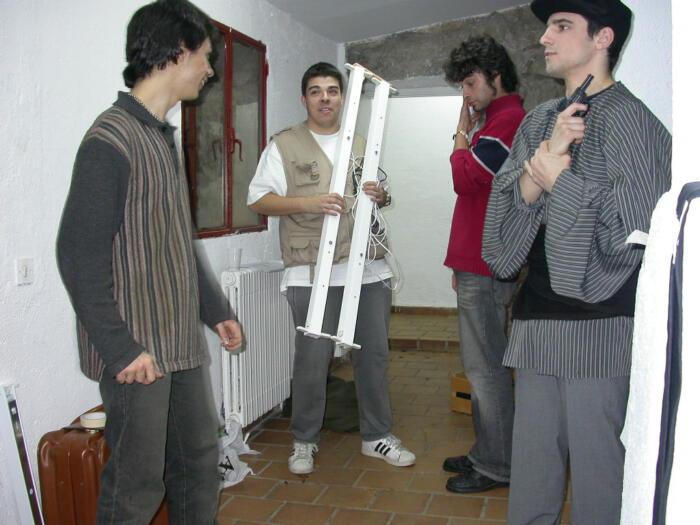 Carlos Isidro, Cobo, Abraham y Alfredo