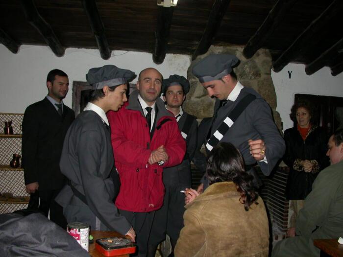 Jama, Carlos Isidro, Isidro, Jose María, Antonio y Nieves